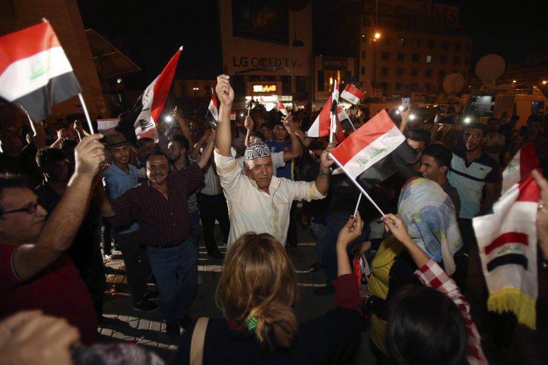 伊拉克政府去年血戰收復第二大城摩蘇爾,重挫伊斯蘭國,什葉派民兵居功厥偉(AP)