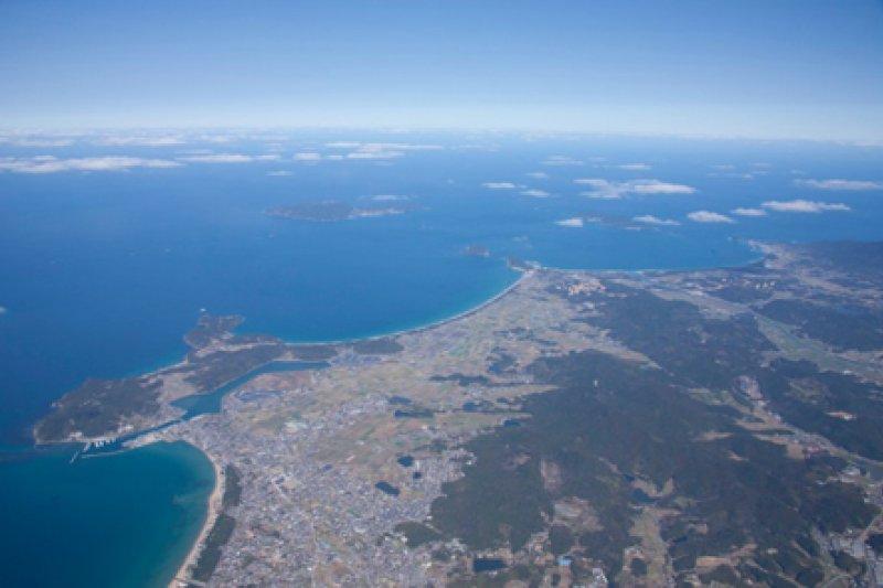 這次入選世界文化遺產的沖之島遺產群全貌。(取自沖之島相關遺產群特設網站)