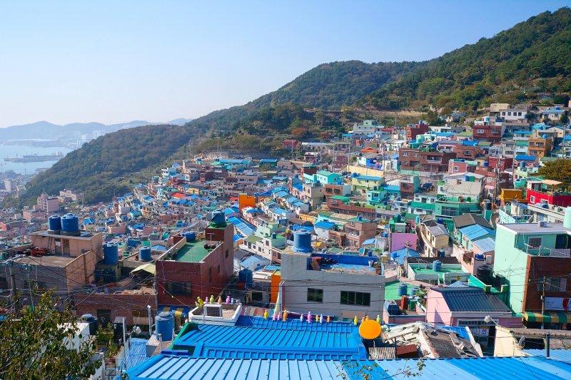 比起時髦的首爾,釜山除了好逛之外,還有許多天然美景。(圖/KKDAY提供)