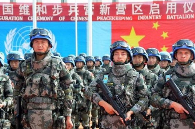 中國的維和人員正在剛果(金)、南蘇丹,以及馬里、黎巴嫩等非洲和中東國家參加維和行動。