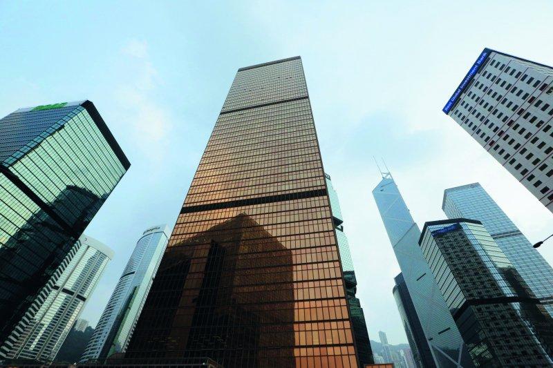 1990年代香港已建立起亞洲金融中心地位。(新新聞資料照)