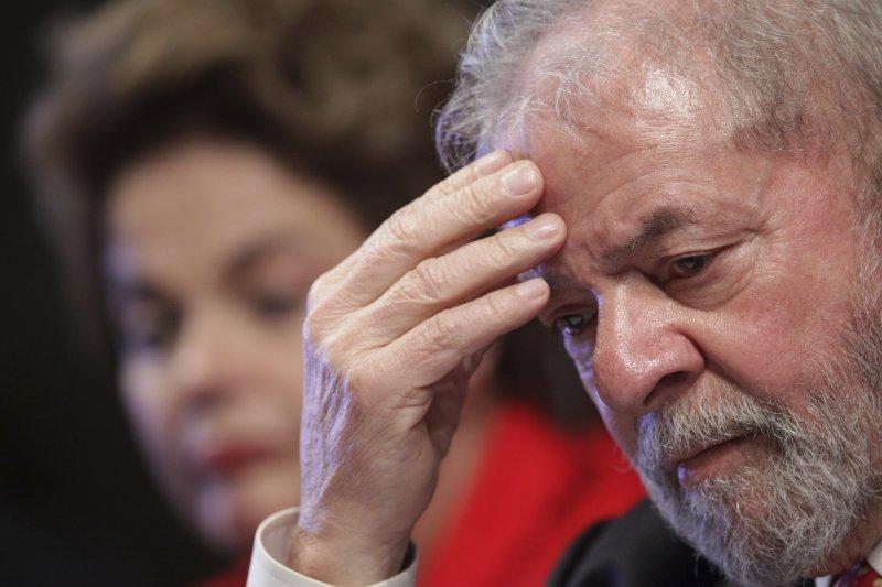 巴西前總統魯拉涉嫌洗錢與貪污,被判處9年6個月的有期徒刑(AP)