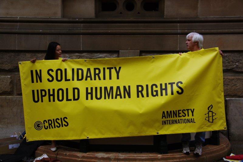 這些人權團體盡心盡力為人權奮鬥,令人欽佩。(圖/Richard Potts@flickr)