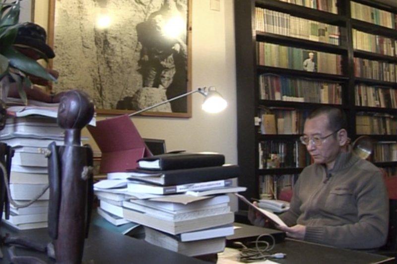 中國諾貝爾和平獎得主、《零八憲章》起草人劉曉波。(美聯社)
