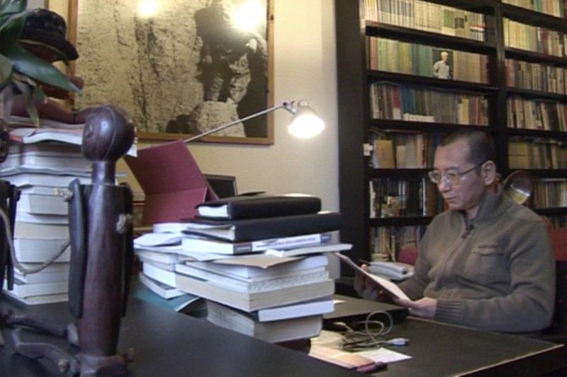劉曉波。攝於2008年(AP)