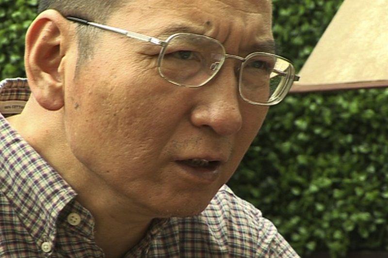 劉曉波,攝於2008年(AP)