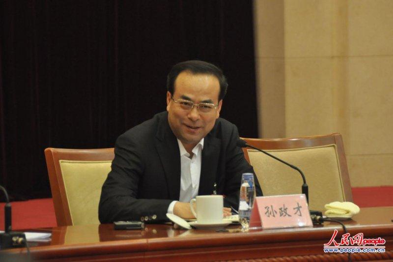 中共中央政治局委員、前重慶市委書記孫政才(取自網路)