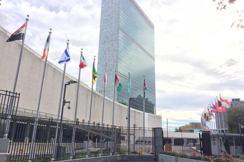 聯合國紐約總部:秘書處大樓(簡恒宇攝)