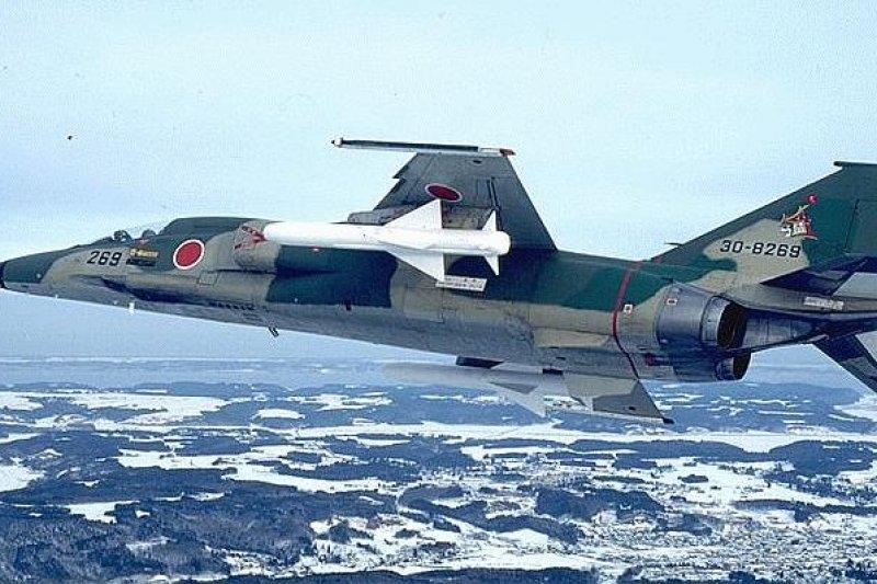 搭載在F1戰鬥機上的「80式反艦飛彈」。(取自美國科學家聯盟)