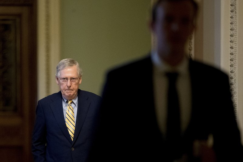 美國聯邦參議院共和黨領導人麥康奈爾(Mitch McConnell)推動廢除歐巴馬健保遭遇重挫(AP)