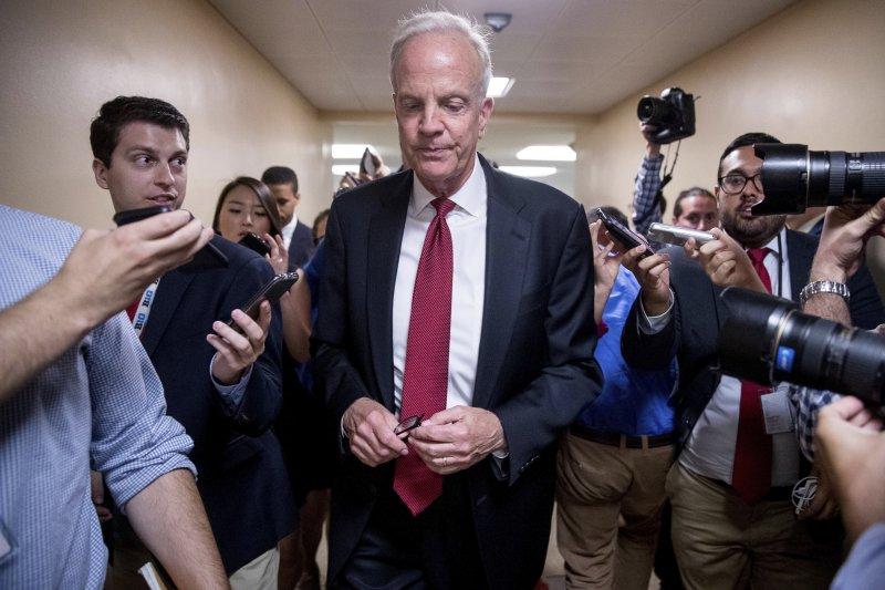 美國堪薩斯州聯邦參議員莫蘭(Jerry Moran)反對自家共和黨「廢除並取代」歐巴馬健保的新法案(AP)