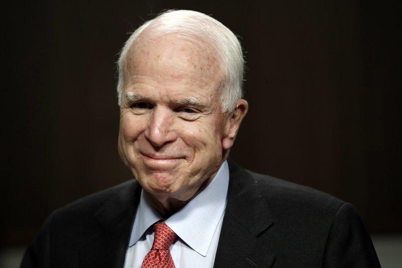 美國聯邦參議院軍事委員會主席馬侃(John McCain)(AP)