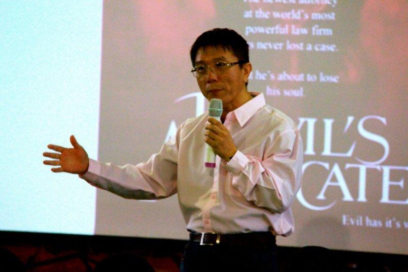劉北元出獄後,開始為上帝做工,回到監獄去傳揚悔改的訊息,發現過去的挫敗竟成了最有力的說服工具。(圖/作者提供)
