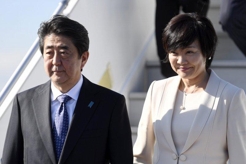 美國總統川普透露,日本第一夫人安倍昭惠「連Hello都不會說」,引發日美媒體討論。(美聯社)