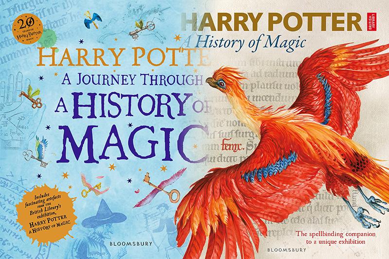 《哈利波特:魔法史之旅》(暫譯)與《哈利波特:魔法史-展覽之書》(暫譯)將於10月問世(照片:Amazon/合成:風傳媒)