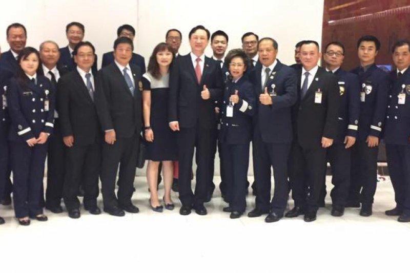 新任中華民國駐泰國代表童振源22日傍晚抵達曼谷國際機場(童振源臉書)