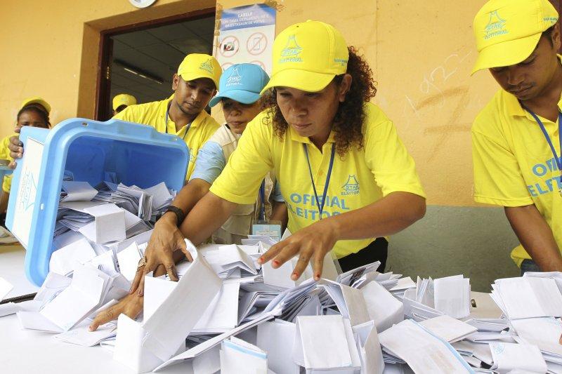 東帝汶國會大選:首次在沒有聯合國監管的情況下進行(AP)