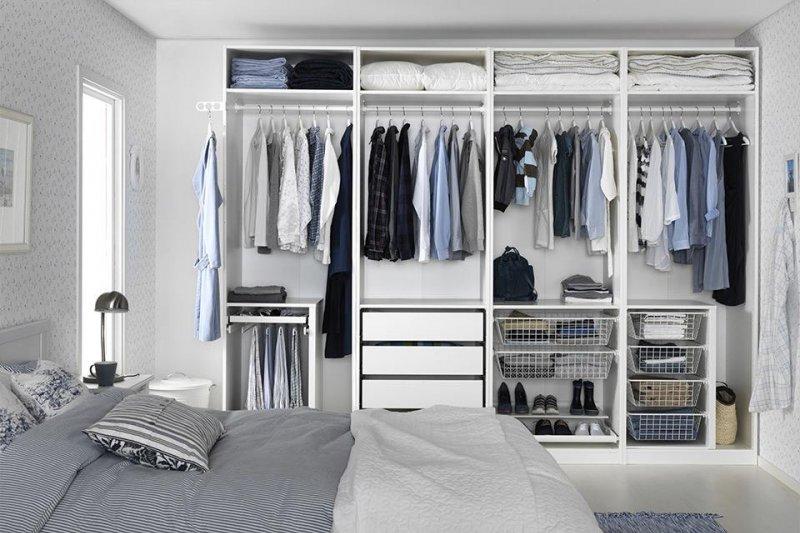 好好管理衣櫥,讓關鍵的20%發揮到最大的效益,是一種聰明的「理財」方式(圖/ikea@facebook)