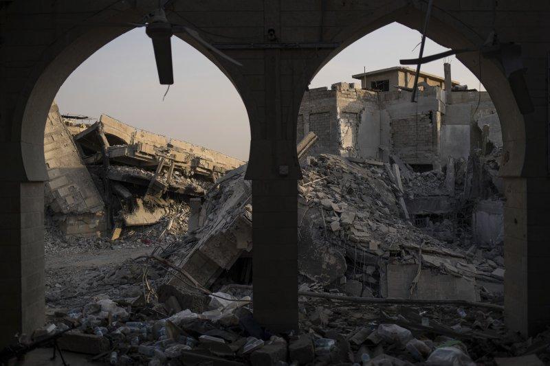 伊拉克軍隊7月初收復IS大本營摩蘇爾。(美聯社)