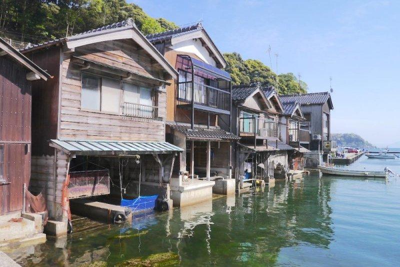 全日本最美的小漁村!深藏京都卻人跡罕至的絕景,「伊根舟屋」一定要排進行程-風傳媒