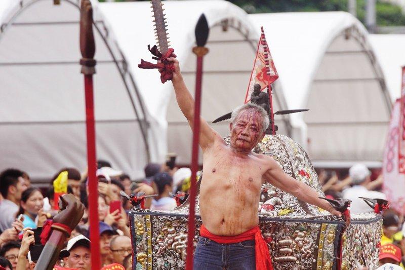 20170723-史上最大科、眾神上凱道,眾家神明於台北市中心大會師。(盧逸峰攝)