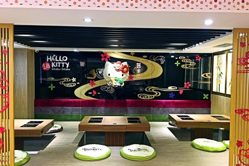 跟著歷久不衰的 Hello Kitty 一起享受鍋物!(圖 / Hello Kitty Shabu-Shabu@facebook)