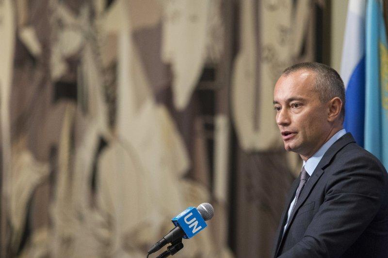 以巴問題:聯合國中東特使姆拉德諾夫(AP)
