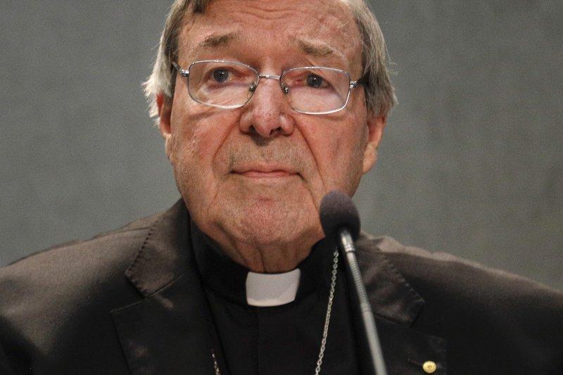 遭控性侵的澳洲籍樞機主教佩爾。(美聯社)