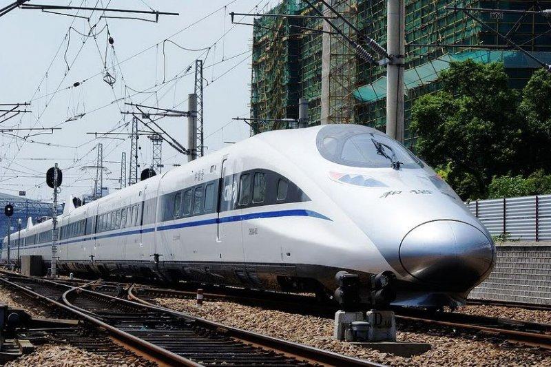 中國高鐵。(Khalidshou@wikipediaCCBY3.0)