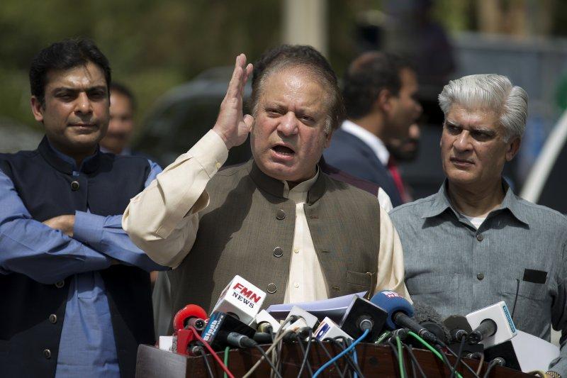 巴基斯坦總理夏立夫(Nawaz Sharif)因涉貪腐遭最高法院罷黜(AP)