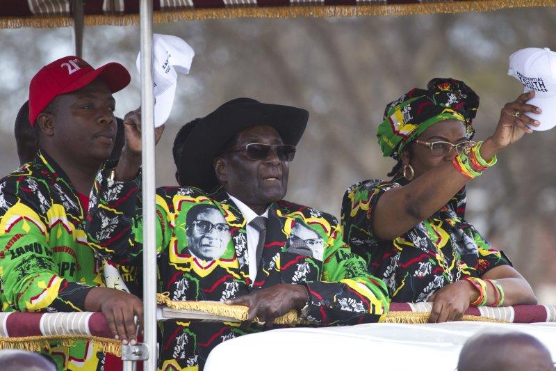 辛巴威總統穆加比(AP)