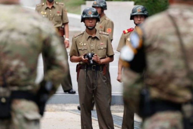 朝鮮半島局勢緊張,警鐘不斷。(BBC中文網)