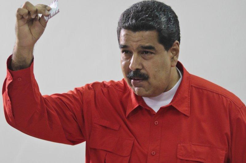 委內瑞拉,制憲會議公投,示威,總統馬杜洛。(美聯社)
