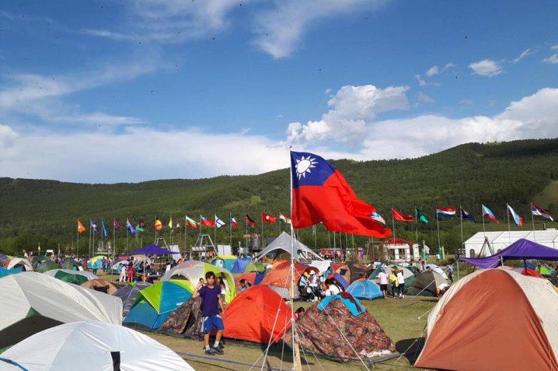 交通部觀光局設置露營專區網頁於16日正式上線,首波名單提供84家公有露營場、觀光遊樂業附設露營場等資訊。圖為營區示意圖。(資料照,取自基隆市政府網站)