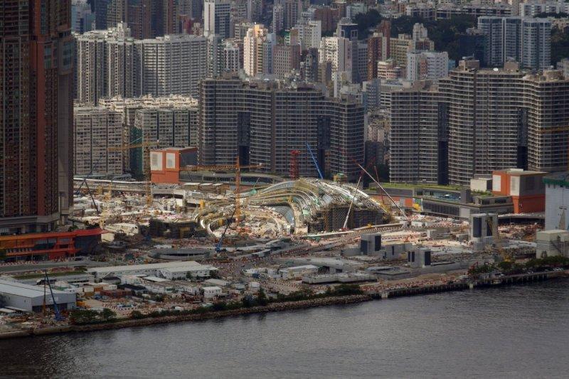 西九龍站是在香港領域設立的內地口岸,將實施「整套內地法律」。(翻攝自維基百科)