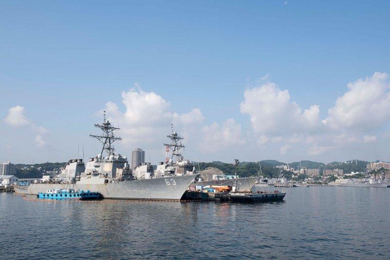 美軍神盾驅逐艦「史塔森號」(USS Stethem)。(美國海軍)