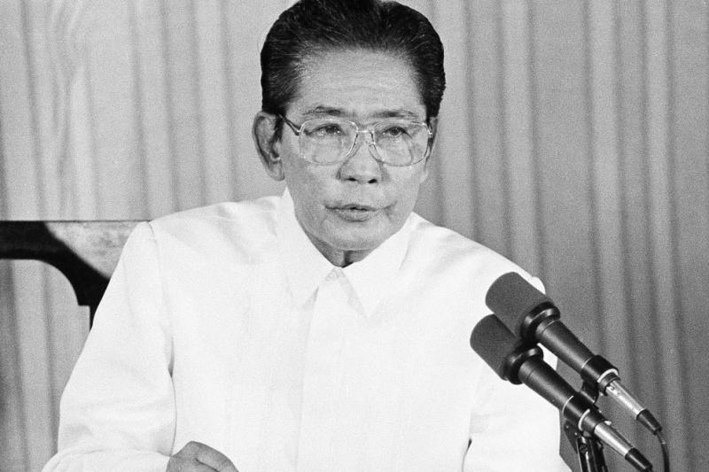 菲律賓前總統馬可仕(AP)