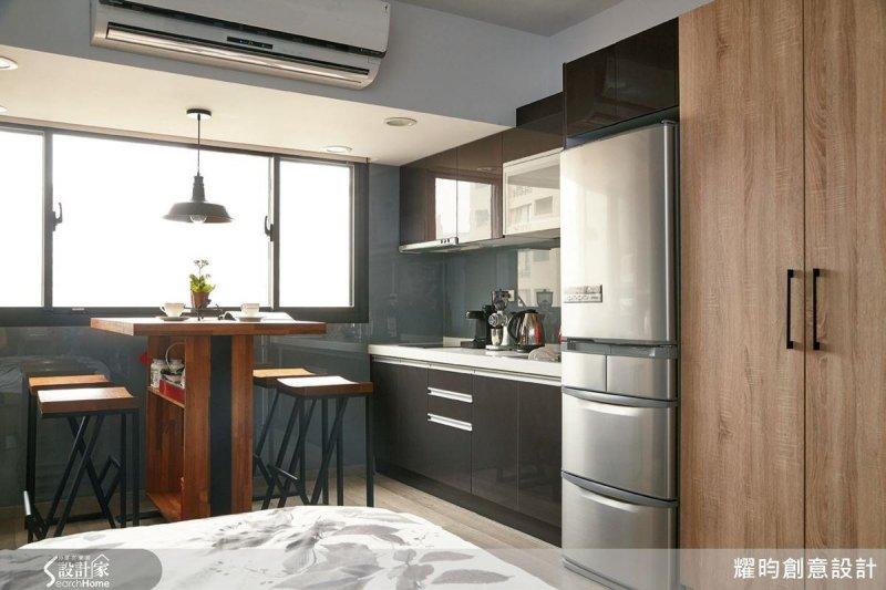 小坪數廚房要怎麼規劃才能將空間利用到最大呢?(圖/設計家Searchome提供)