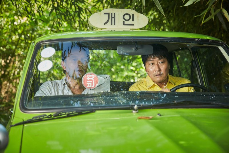 南韓影帝宋康昊主演的電影《我只是個計程車司機》。(取自IMDb)