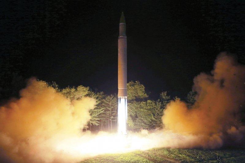 對抗北韓核武與飛彈威脅,南韓軍方部署玄武2型巡弋飛彈(Hyunmoo) (AP)