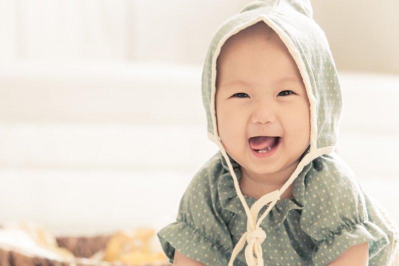 香榭大道時尚婚紗不僅擅長將新人拍的美如名模,也擅長拍可愛的寶寶。(圖/香榭大道時尚婚紗)