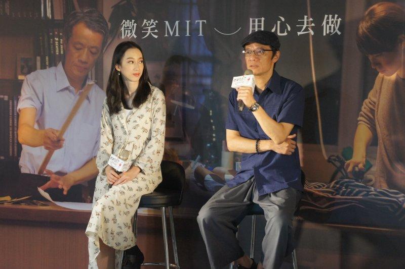 金獎影帝吳朋奉先生及林涵導演分享拍攝MIT微電影「林桑的西裝」心路歷程(圖 / 中衛發展中心提供)