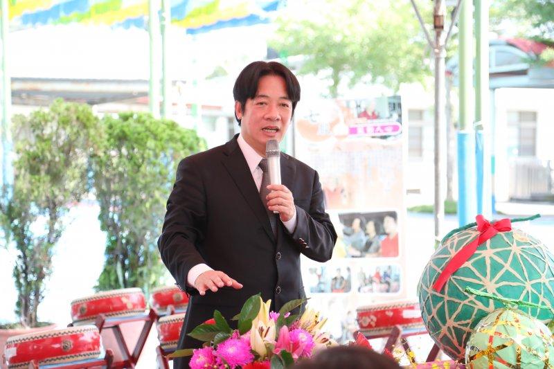 台南市長賴清德即將北上組閣。(台南市政府提供)