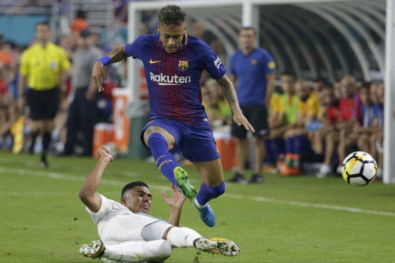 巴西足球天王巨星內馬爾(Neymar)(AP)