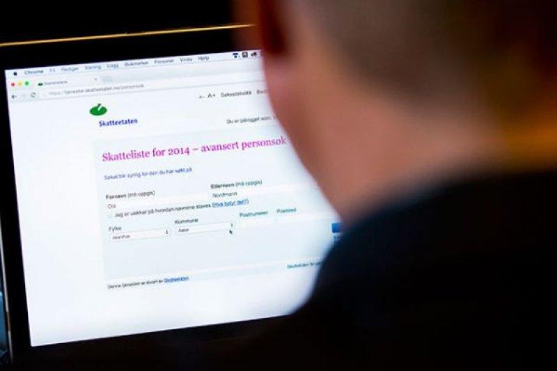 挪威人可以在網路查詢別人的薪資(AP)