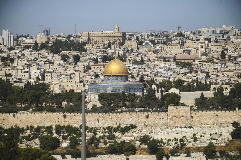 耶路薩冷的聖殿山。(美聯社)