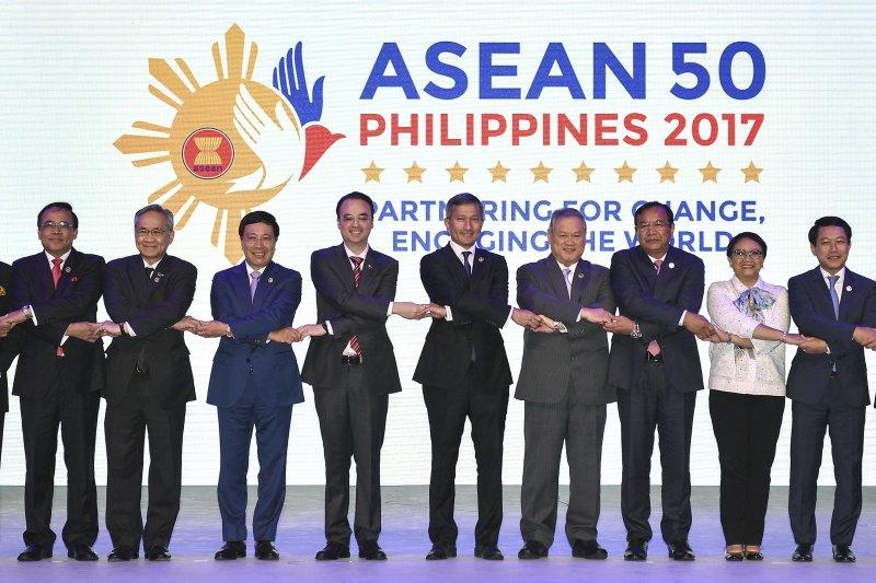 第50屆東協峰會落幕,但聯合公報因南海議題而遲遲未出爐(AP)