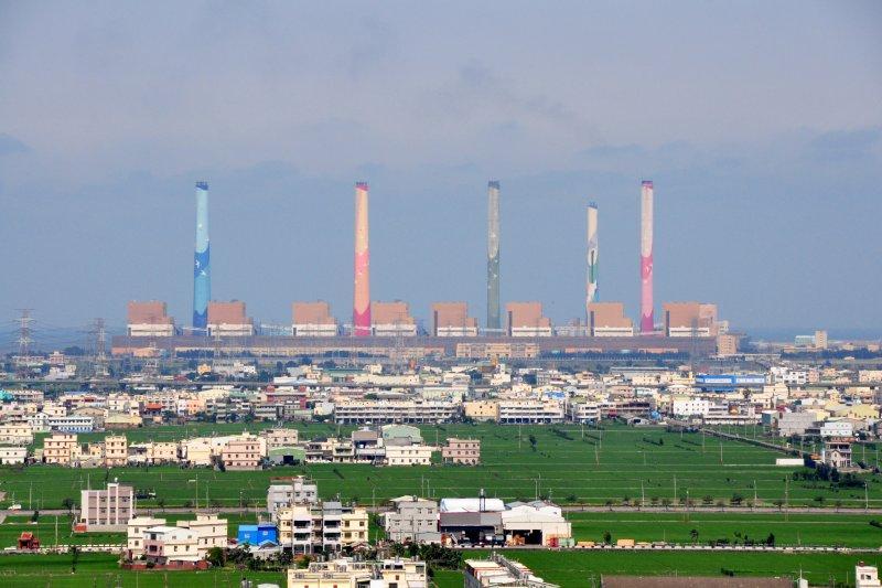 台中發電廠,台中電廠(阿爾特斯@Wikipedia / CC BY 3.0)