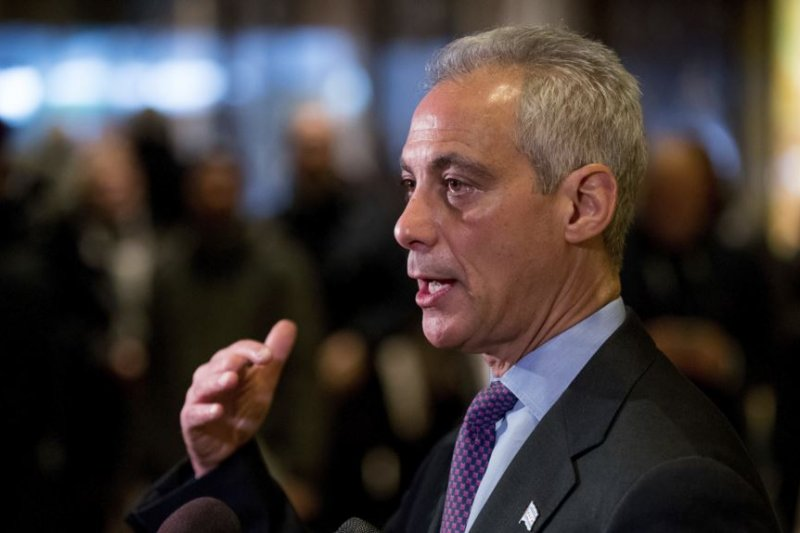 芝加哥市長伊曼紐。(美國之音)