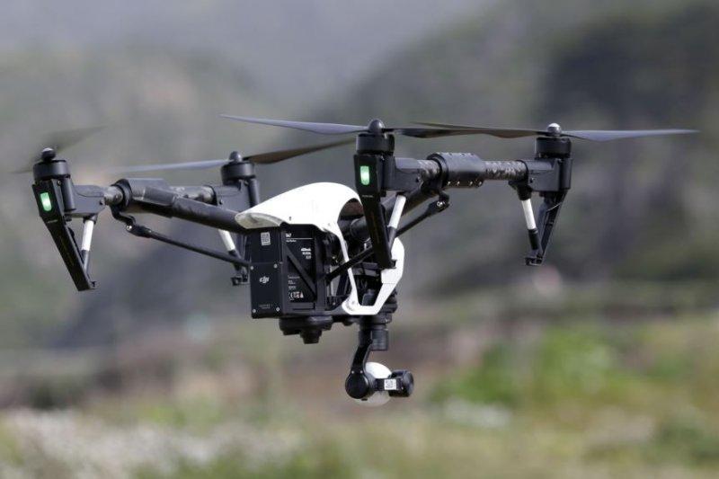 中國公司「大疆創新」生產的的無人機。